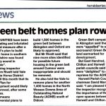 Local Parish Councils welcome decision not to build 1,400 homes in North Wessex Downs Area of Outstanding Natural Beauty