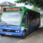 Buses in Harwell village from Sep 5