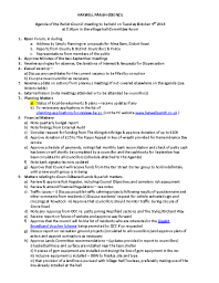 agenda & notes