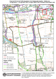 A – Icknield Way (BOAT) MPVs & Carriage Drivers Prohibition – CONSULTATION PLAN