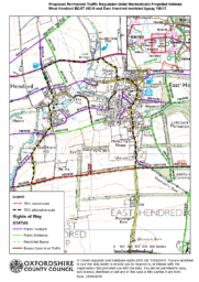 B – Icknield Way (BOAT & RB) MPVs Prohibition – CONSULTATION PLAN