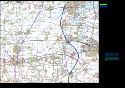 TTRO Rowstock 2020 Diversion Route