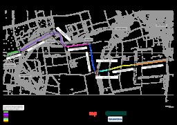 Route 1 – Key Plan